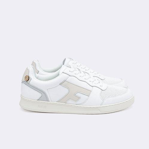 Faguo - Hazel Leather white