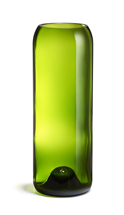 Q de bouteille - Vase Fillette Débattre