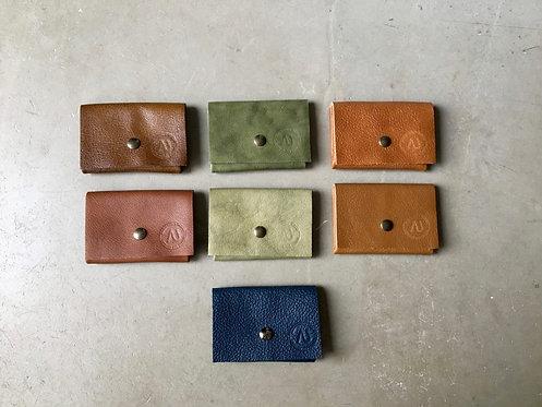 Porte-cartes plié