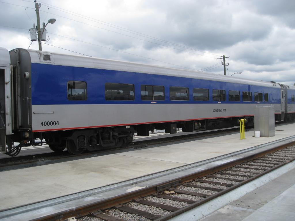 NCDOT Refurbished 66 Seat Coach