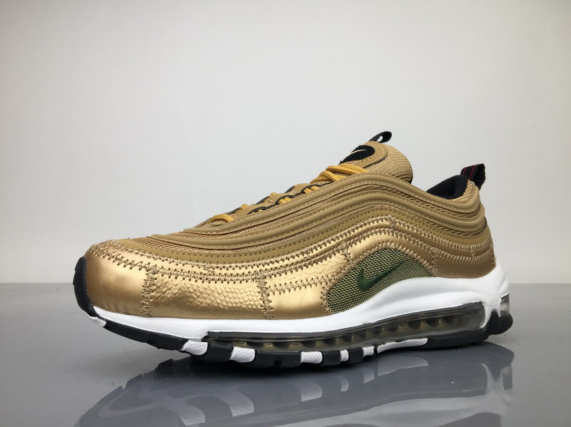 online store f7c85 5ad92 Nike Air Max 97 CR7 Gold