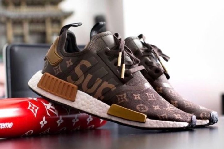 online store 76800 86f35 Supreme x Louis Vuitton x adidas NMD R1 | GodFirst7