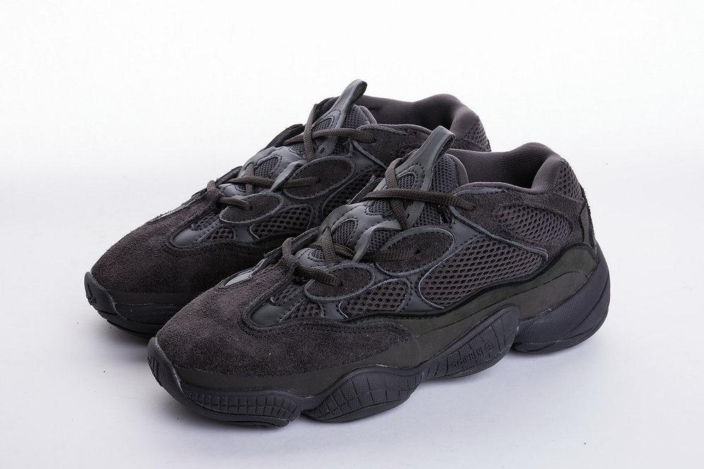 newest 39a46 b6ccd Adidas Yeezy Desert Rat 500 Utility Black