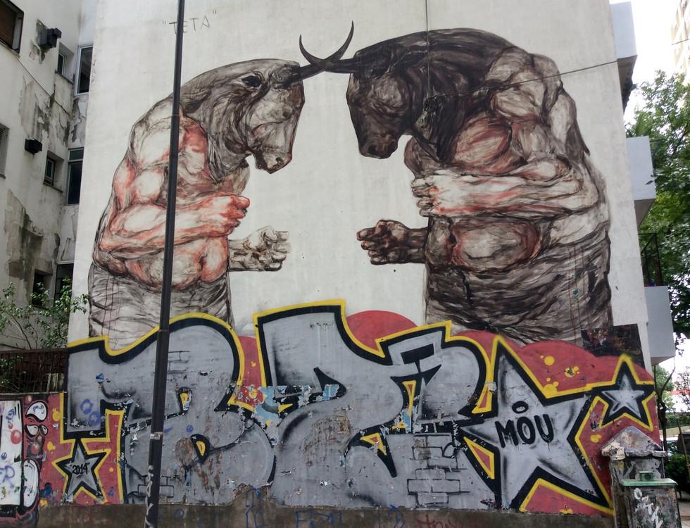 Le graffiti à Buenos Aires
