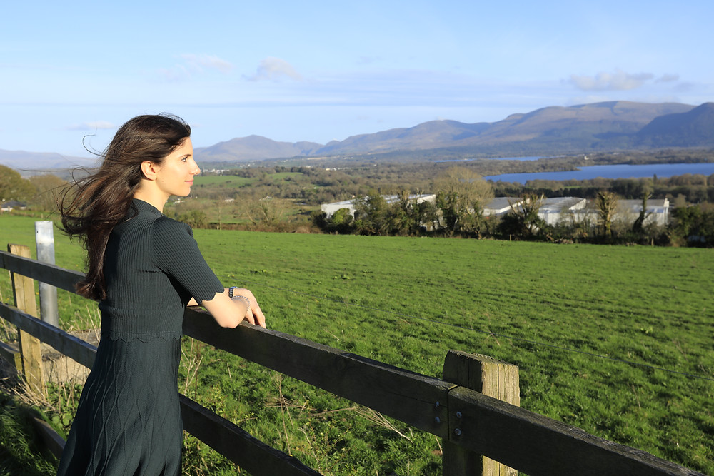 Enjoying the views of Killarney, Ireland