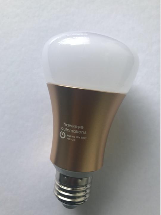 HE-C7 Smart LED Bulb controlled via Wi-Fi