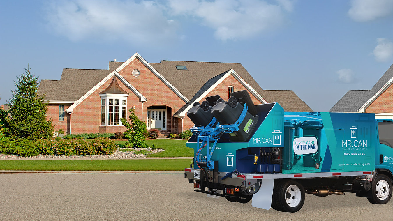 Residential Trash Bin Cleaning