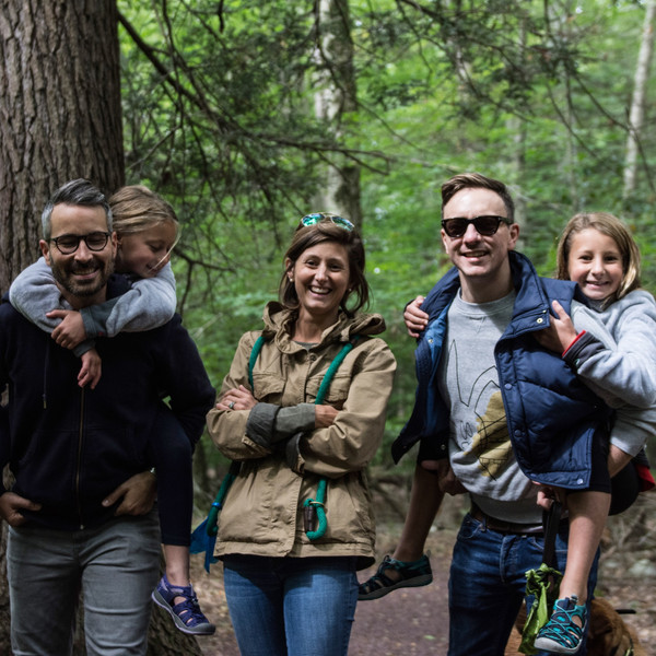 A hike with our nieces is the best!