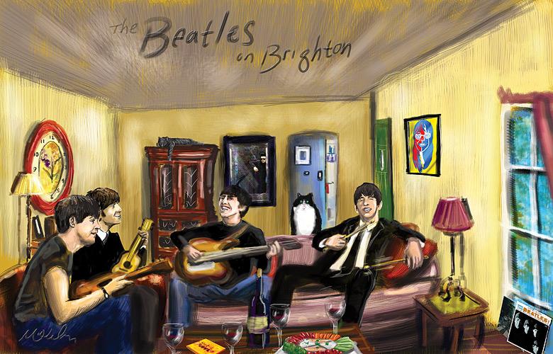 Beatles on Brighton