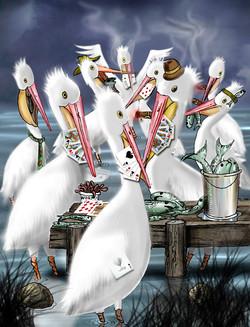 Poker Pelicans