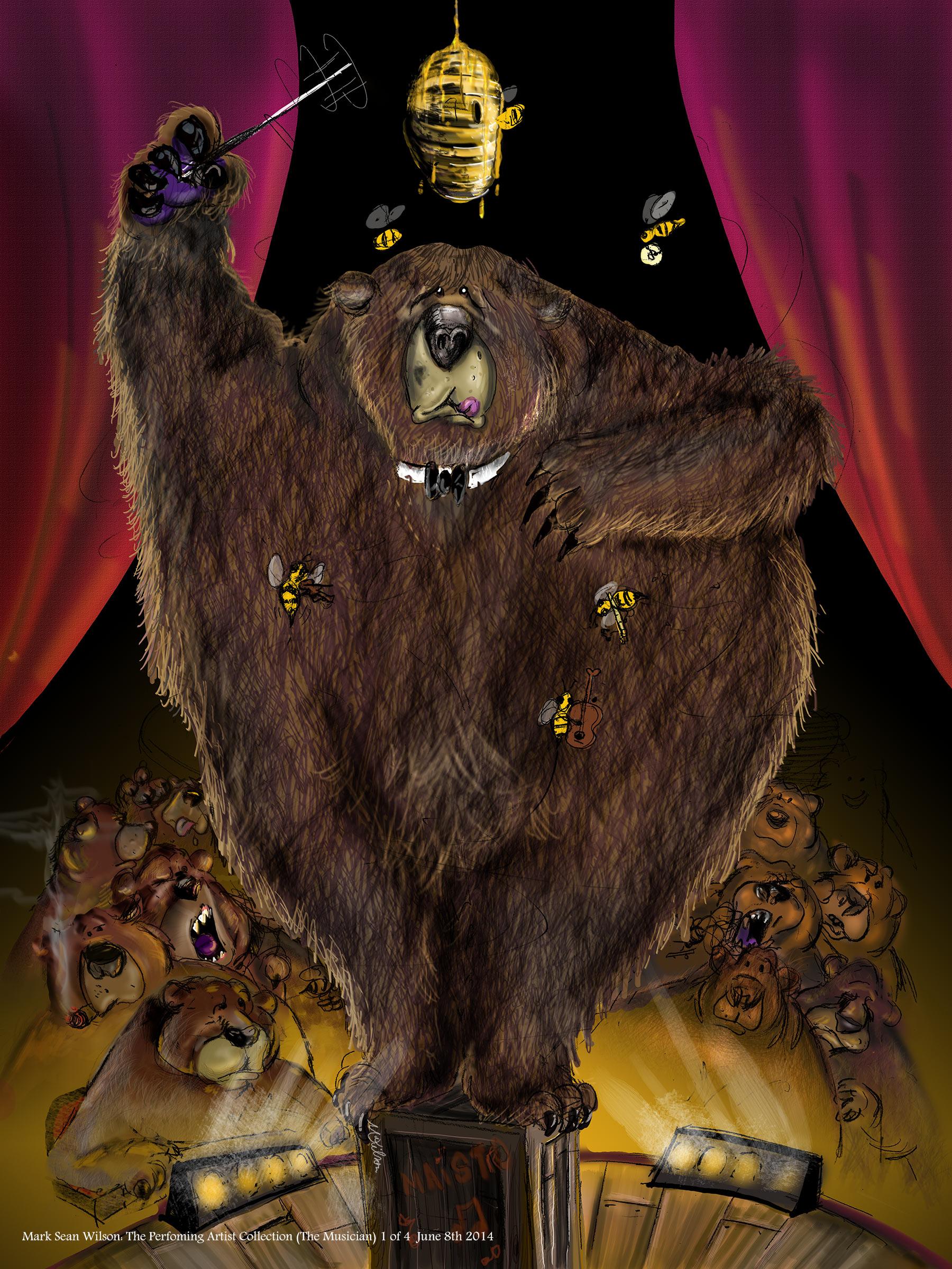 Conductor bear
