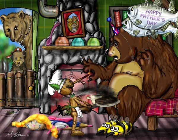 Pino and the 3 Bears