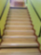 Accessibilité escalier La Balme de Thuy