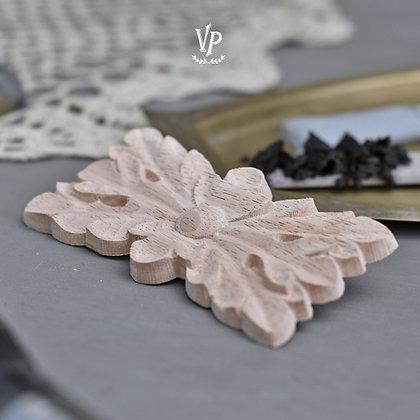 Holz Ornament 6 x 12 cm