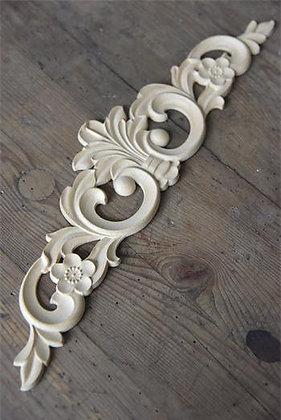 Holz Ornament 40 x 9,5 cm