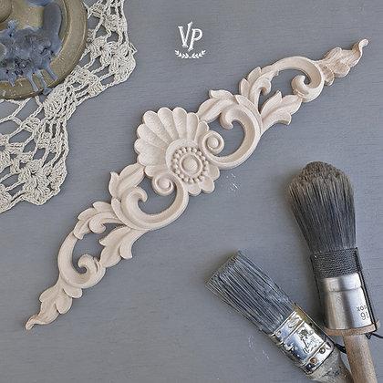 Holz Ornament 30 x 7 cm