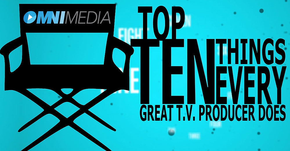 What a television producer does