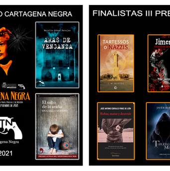 Estas son las novelas finalistas a los premios Cartagena Negra e Icue Negro 2021