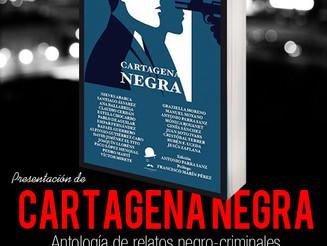"""La antología de relatos """"Cartagena Negra"""" preparada para su presentación el día 5."""