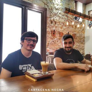 Claudio Cerdán y Daniel Fopiani