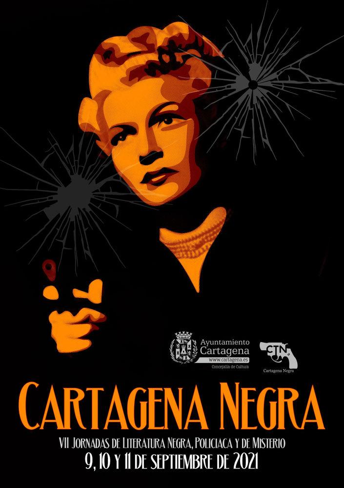 Cartagena Negra, jornadas de literatura negra, policiaca y de misterio
