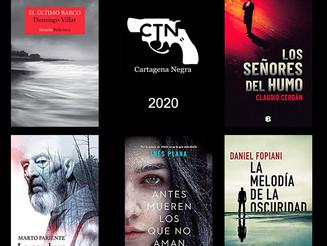 Finalistas de los premios de novela Cartagena Negra