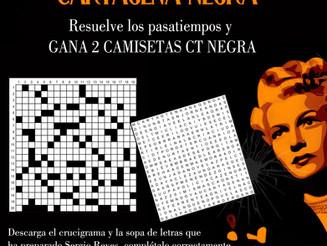 Pasatiempos Especial Cartagena Negra. Resuelve y gana 2 camisetas de CT Negra 2021