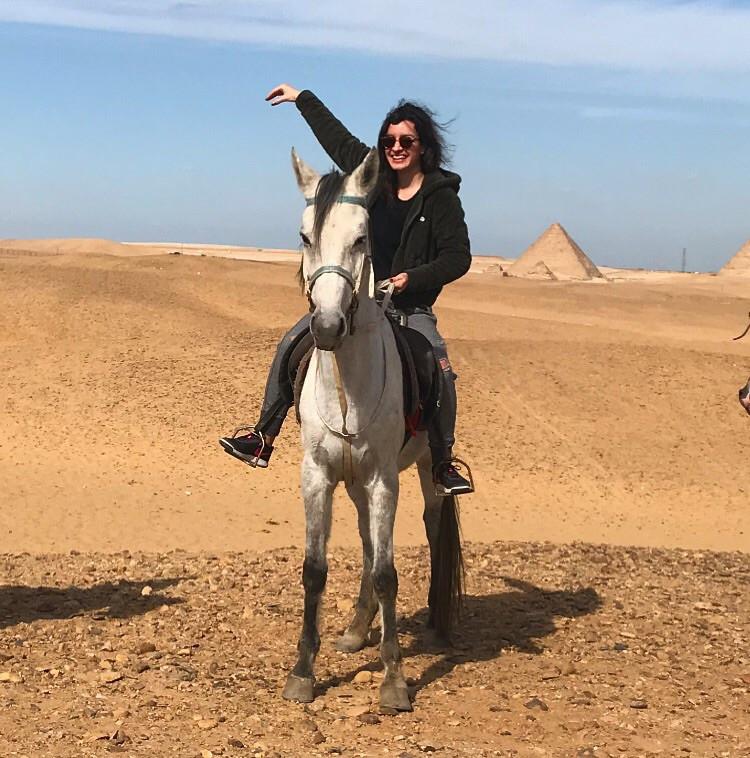 Farida in Egypt