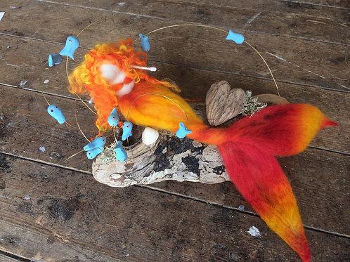 Singing Mermaid, Dancing Fish #3