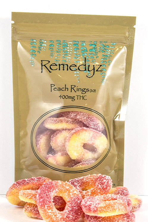 Remedyz- Peach Rings 400mg THC