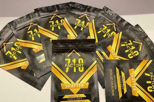 Factory 710 Shatter : 1 Gram