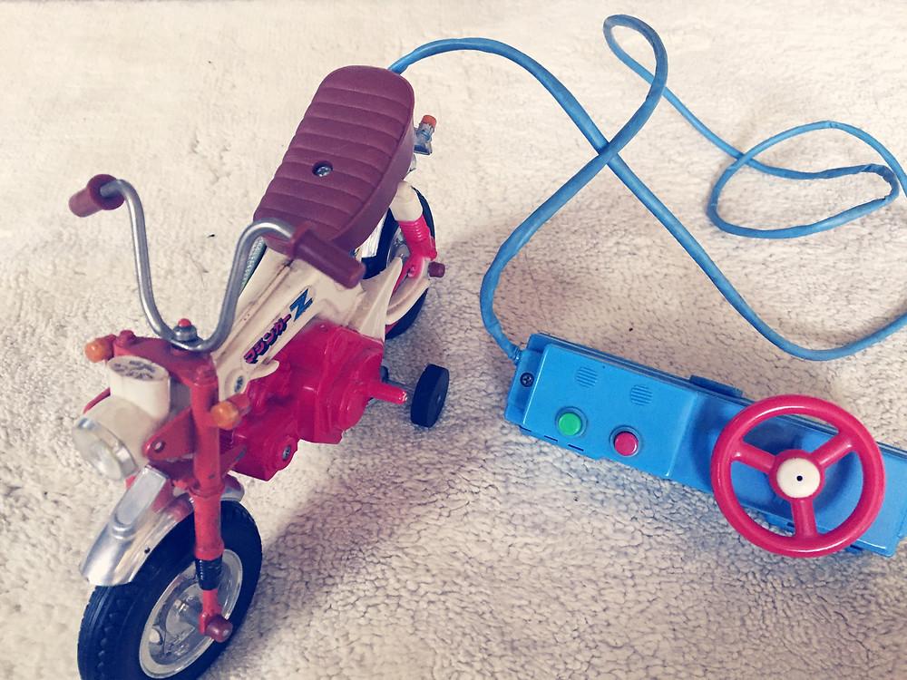 爺さんから買ってもらったバイク!