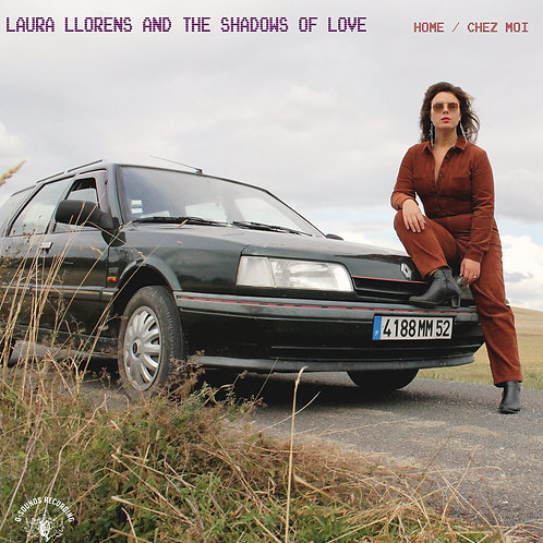 "LAURA LLORENS & THE SHADOWS OF LOVE ""Home/Chez moi""purple vinyl limited edition"