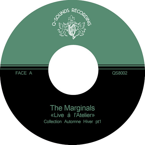 "THE MARGINALS ""Live a l'Atelier"""