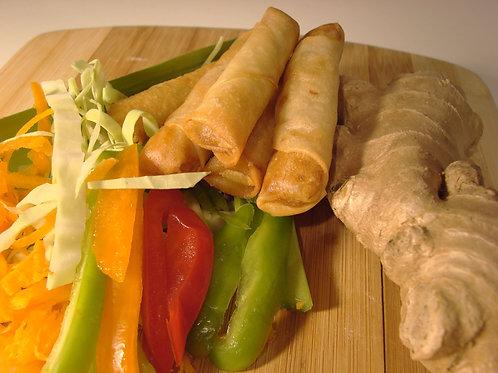 Vegetable Spring Roll  خضار رول
