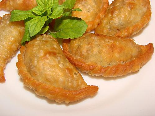 Lebanese Meat Sambousek سمبوسك باللحمة لبنانية