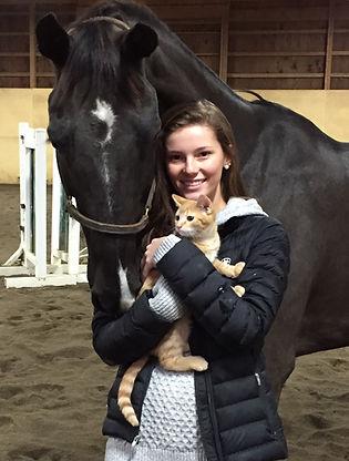 Hawthorne Hill Horse riding boarding hunter jumper Dublin Ohio veterinary clinic vet Holly Helbig