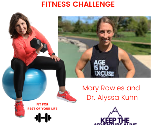 START the ADVENTURE . . . for the rest of your life - FITNESS CHALLENGE! Begins May 3rd.