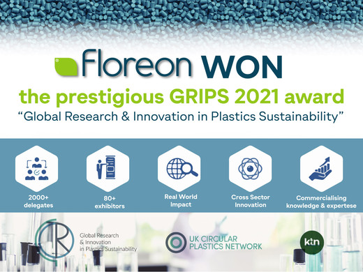 Floreon won at the 2021 GRIPS conference
