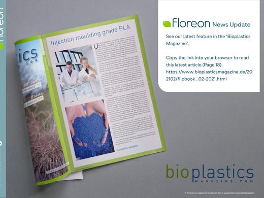 Top magazine features Floreon
