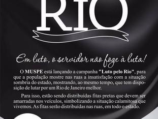LUTO PELO RIO!