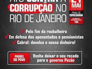 Dia 21 de maio em Copacabana!