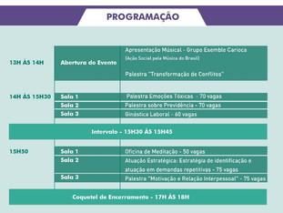 DIA DA SERVIDORA E DO SERVIDOR  - 08/11/2019