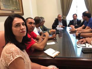 ASDPERJ PARTICIPA DE AUDIÊNCIA COM O GOVERNADOR PEZÃO
