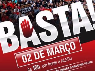 2 de março: BASTA!!!!!!!