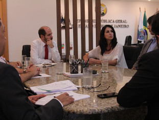 Defensor Público Geral se reúne com a ASDPERJ