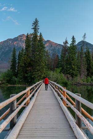 Pyramid Lake Sunrise