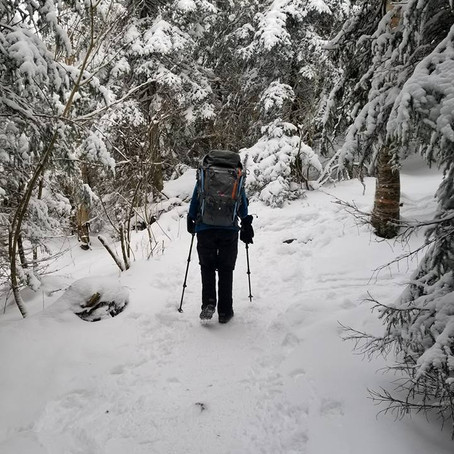 Winter Hiking in Negative Temps