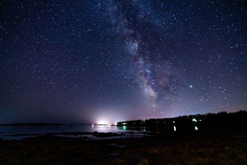 Milkway at Acadia National Park