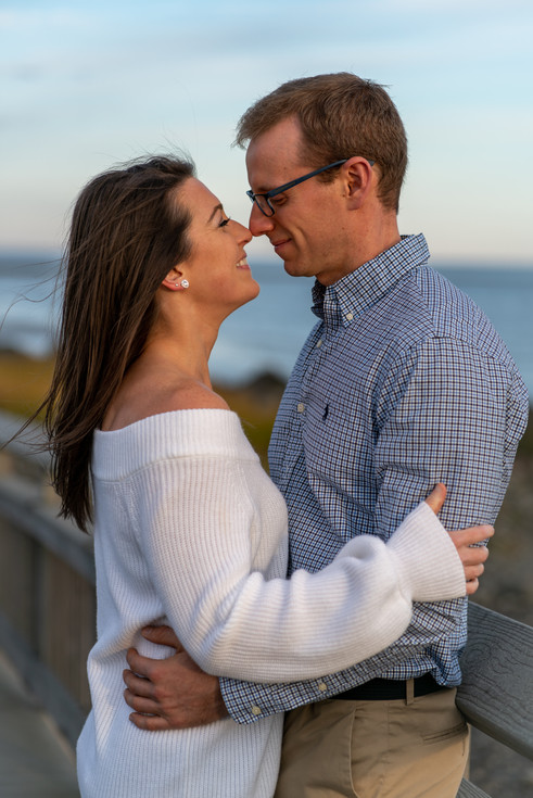CT Beach Engagement Photography